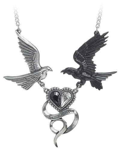 Epiphany of St. Corvus Necklace by Alchemy of England (Pewter)