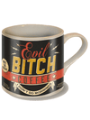 """Evil Bitch"" Coffee Mug by Trixie & Milo - www.inkedshop.com"