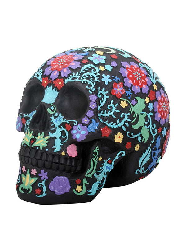 Colored Floral Skull by Summit Collection