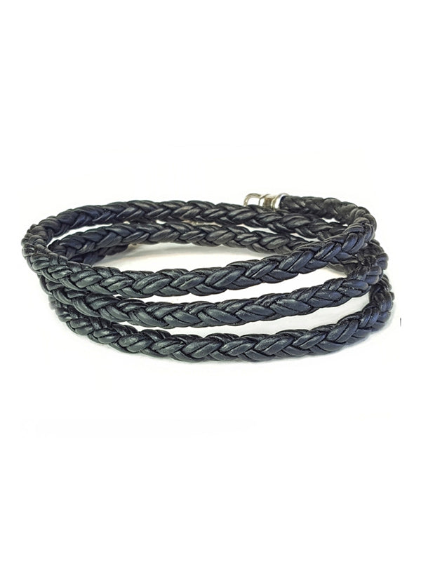 3 Wrap Bracelet by Lucky Dog Leather