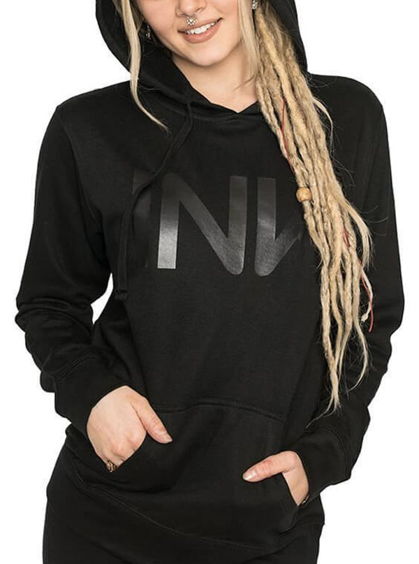 "Women's ""INK"" Hoodie by InkAddict (Black Collection)"