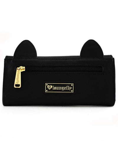 """Black Cat"" Wallet by Loungefly (Black)"