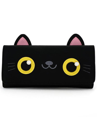 Black Cat Wallet by Loungefly