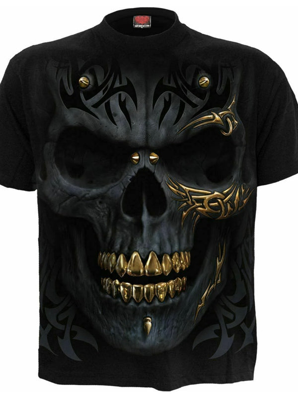 Men's Black Gold Tee by Spiral USA