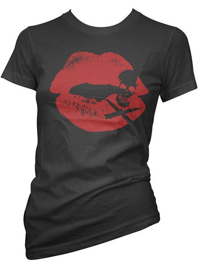 "Women's ""Kiss of Death"" Tee by Cartel Ink (More Options) - www.inkedshop.com"