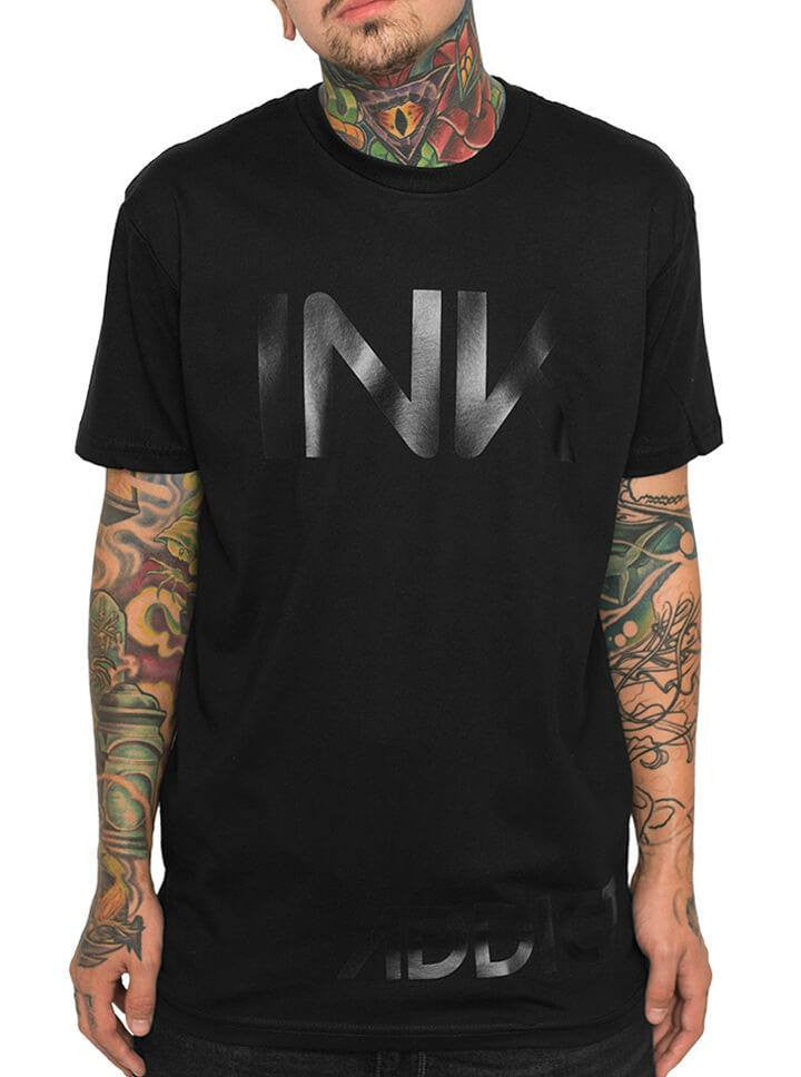 "Men's ""Ink"" Tee by InkAddict (Black Collection) - www.inkedshop.com"
