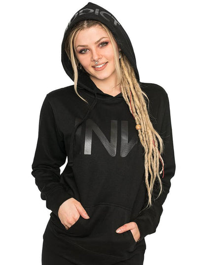 "Women's ""INK"" Hoodie by InkAddict (Black Collection) - www.inkedshop.com"