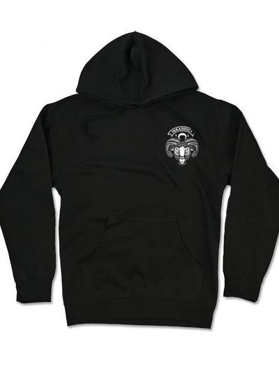 Men's Black Sheep IV Hoodie by InkAddict