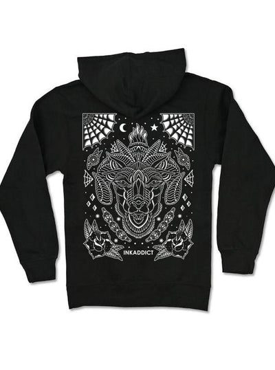 Men's Black Sheep III Hoodie by InkAddict