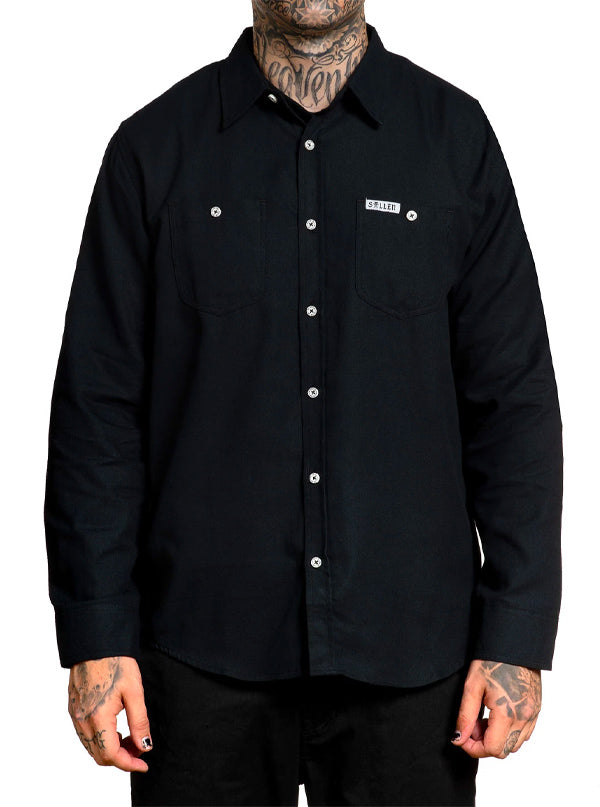 Men's Blaq Raven Flannel by Sullen