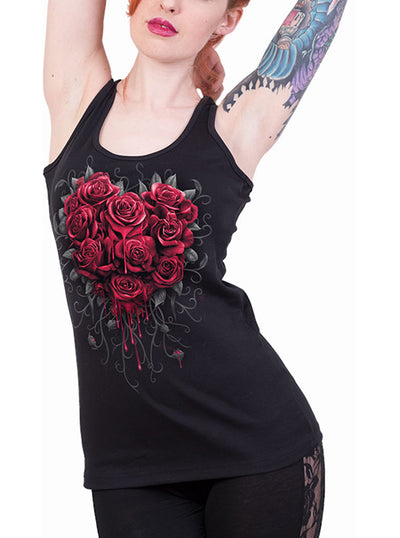 Women's Bleeding Heart Tank by Spiral USA