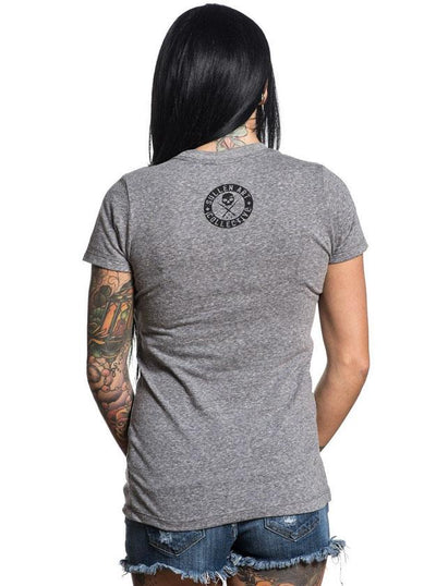 "SA ""Blink Crest"" Tee by Sullen (Heather Grey)"