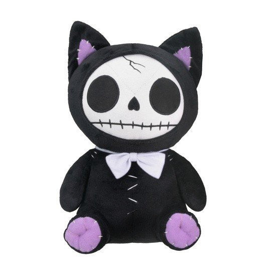 Furrybones® Black Mao-Mao Plush by Summit Collection - InkedShop - 1