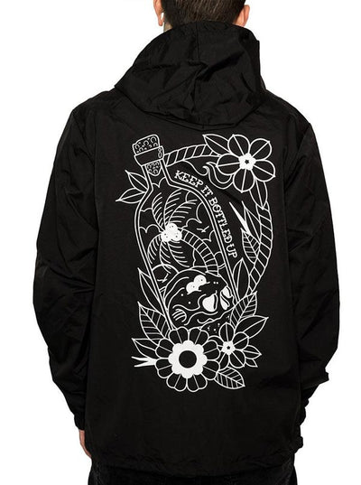 "Men's ""Keep It Bottled Up"" Windbreaker by InkAddict (More Options)"