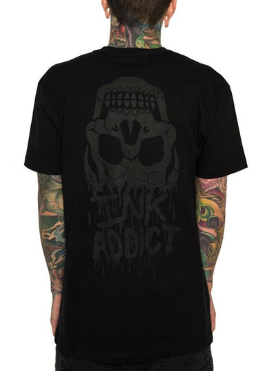 Men's Blood Tee by InkAddict (Black Collection)