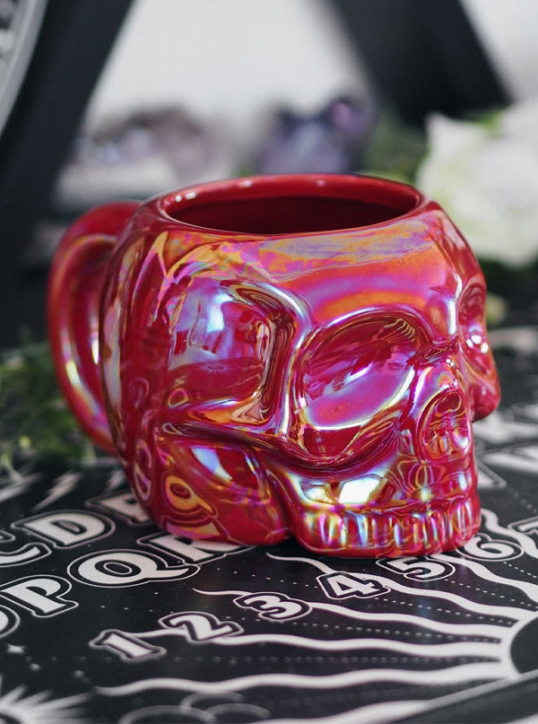 Aura Skull Mug by Killstar