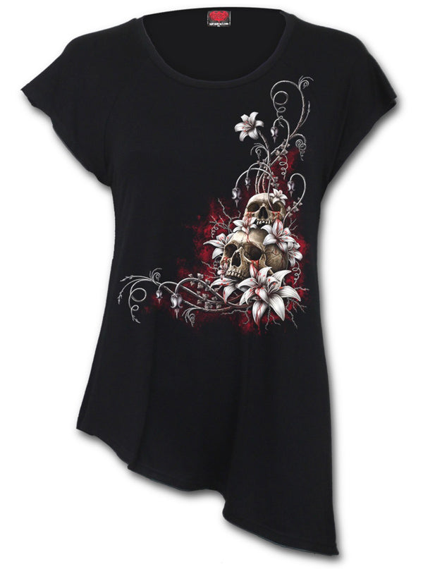 Women's Blood Tears Top by Spiral USA