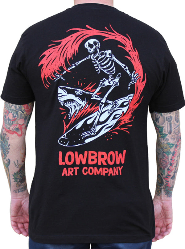 Men's Bloody Waters Tee by Lowbrow Art