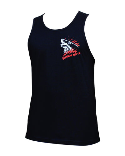 Men's Bloody Waters Tank by Lowbrow Art