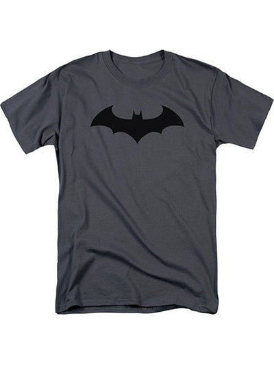 "Men's ""Batman Hush Logo"" Tee by DC Comics (Grey) - www.inkedshop.com"