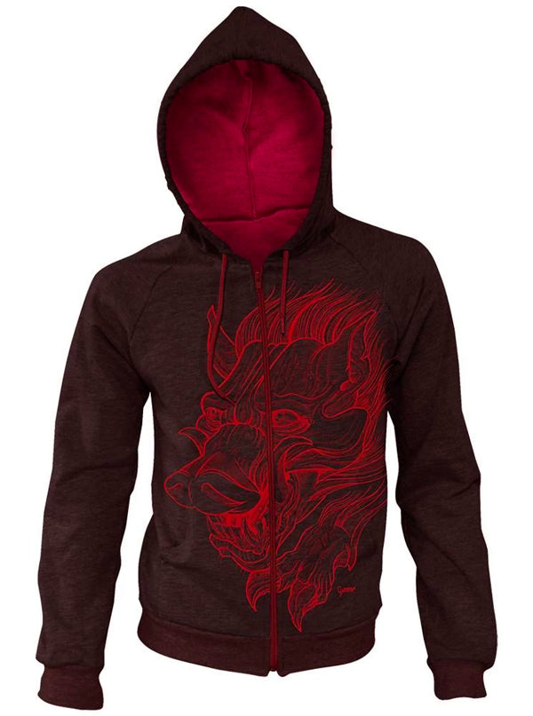 Men's G Boar Zip-Up Hoodie by Steadfast Brand