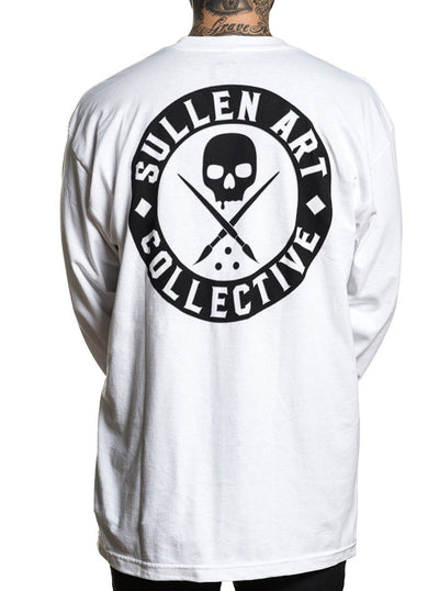 Men's Badge Of Honor Long Sleeve Tee by Sullen