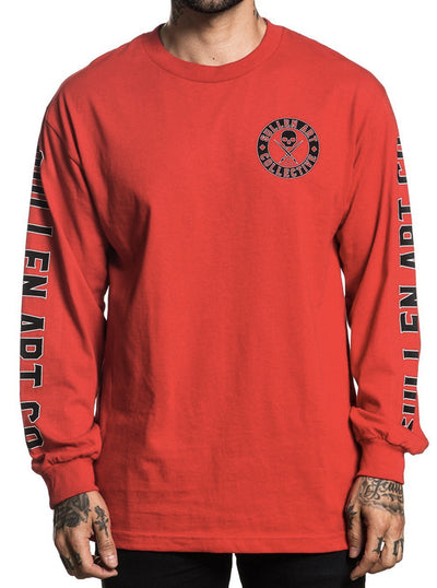 "Men's ""Badge Of Honor"" Long Sleeve Tee by Sullen (More Options)"