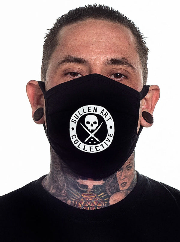 Badge of Honor Face Mask by Sullen
