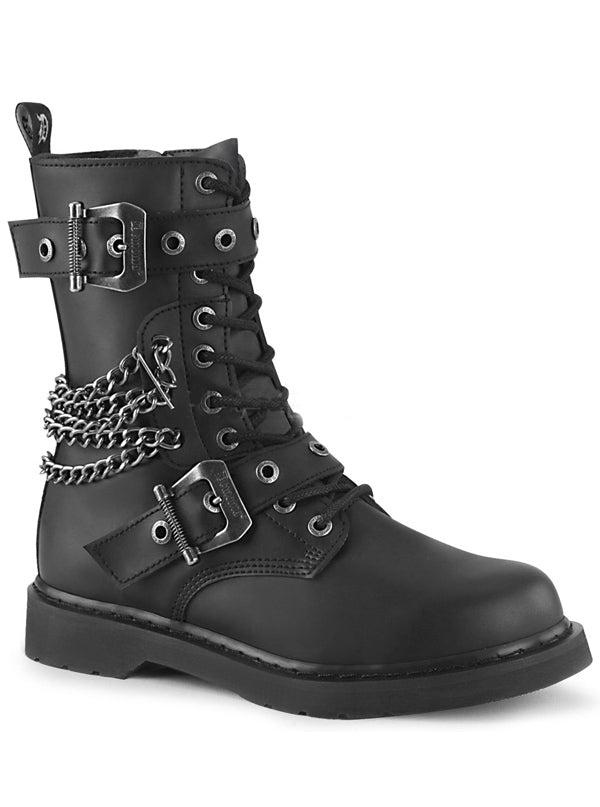"Unisex ""Bolt 250"" Combat Boot by Demonia (Black)"