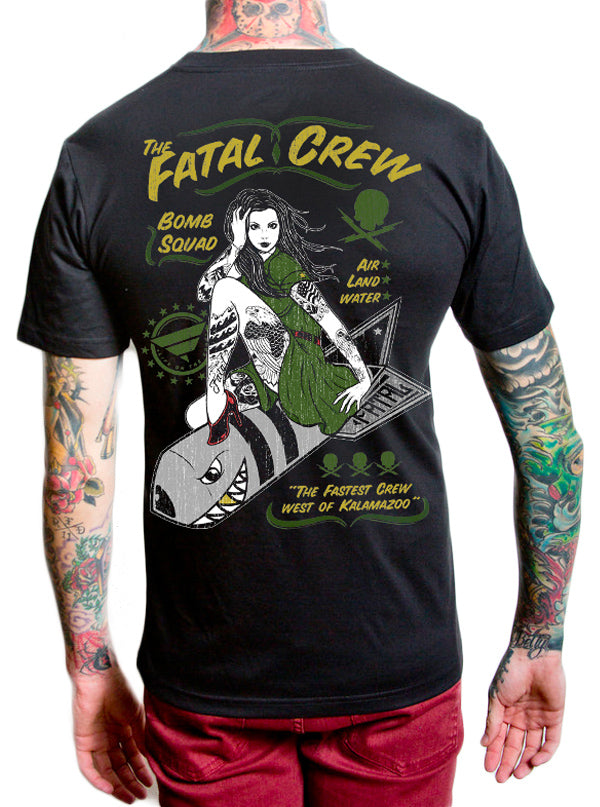 Men's Bomb Squad Tee by Fatal Clothing