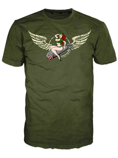 Men's Bombs Away Tee by Lethal Threat