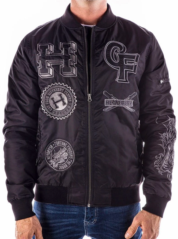 Men's Bring The Ruckus Bomber Jacket by Headrush Brand