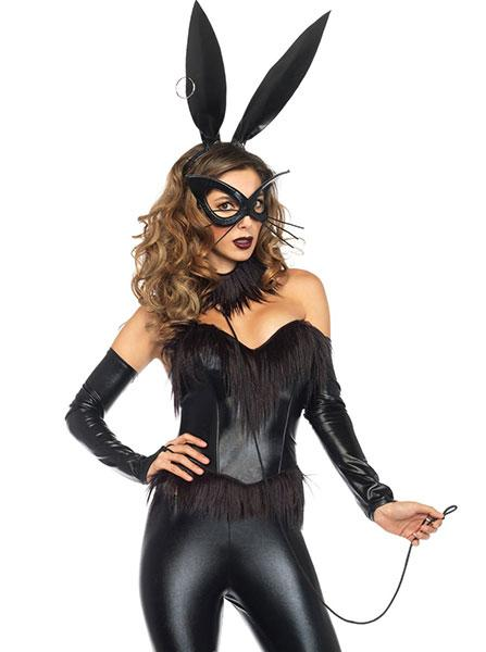Womenu0027s  Bondage Bunny  Costume by Leg Avenue ...  sc 1 st  Inked Shop & Womenu0027s