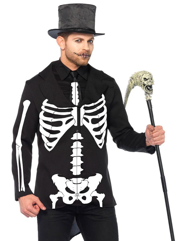 Men's Bone Daddy Costume by Leg Avenue (Black)