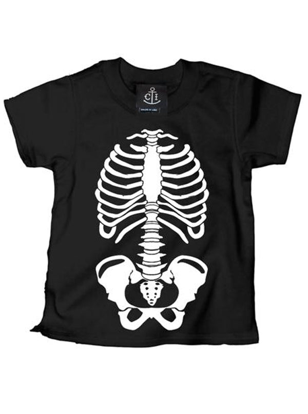 Kid's Boney Skeleton Tee by Cartel Ink