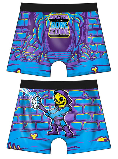 Men's Master of the Bone Zone Boxer Briefs by Harebrained!