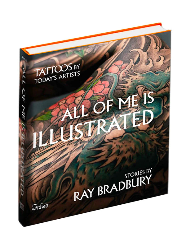 All of Me Is Illustrated Book, Ray Bradbury for Inked