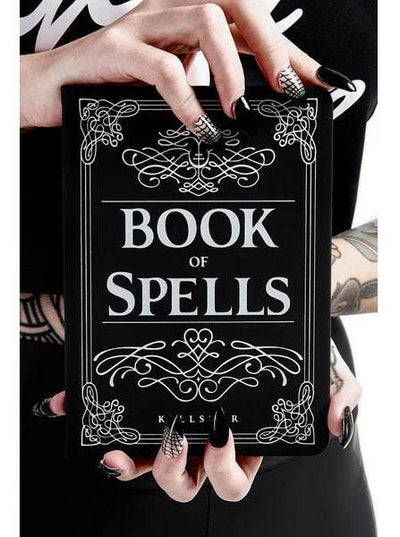 """Book Of Spells"" Journal by Killstar (Black)"