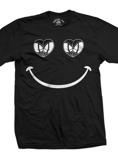 Men's Smile Now Butts Later Tee by Cartel Ink
