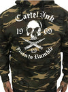 "Men's ""Born to Rumble"" Hoodie by Cartel Ink (Camo)"