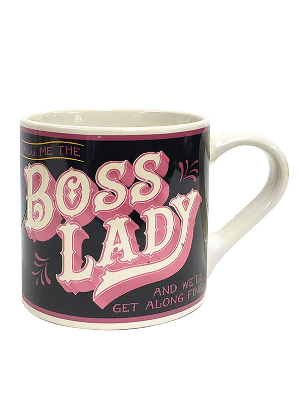 Boss Lady Coffee Mug by Trixie & Milo