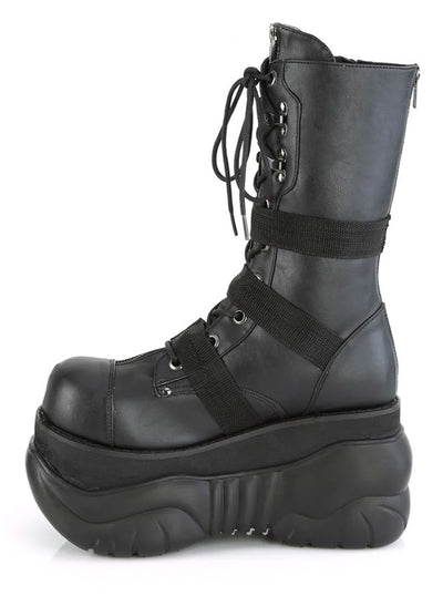 Unisex Boxer 230 Platform Boot by Demonia