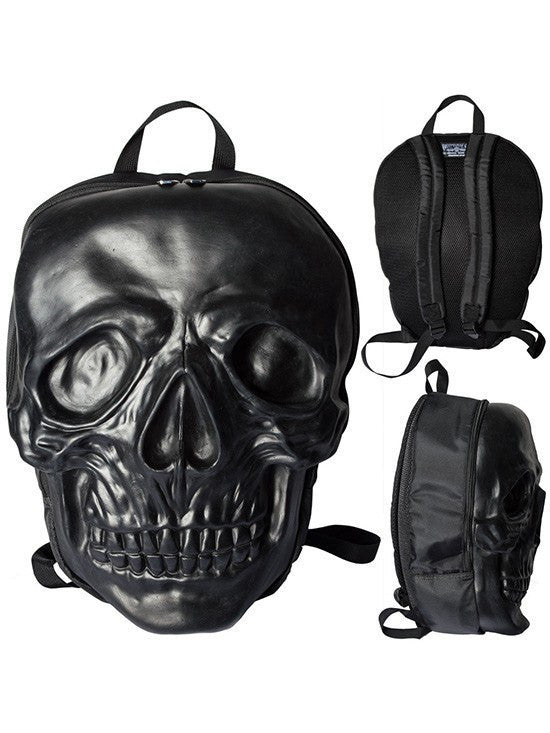 Women's Skull Backpack by Kreepsville 666 (Black) - www.inkedshop.com