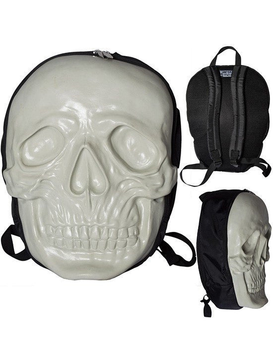 Women's Skull Backpack by Kreepsville 666 (Natural Glow) - www.inkedshop.com