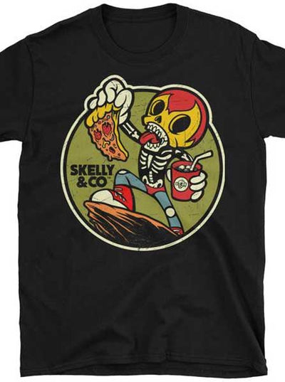 "Men's ""Break Time"" Tee by Skelly & Co (Black)"