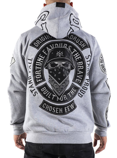 Men's Breathe Zip Up Hoodie by Headrush Brand