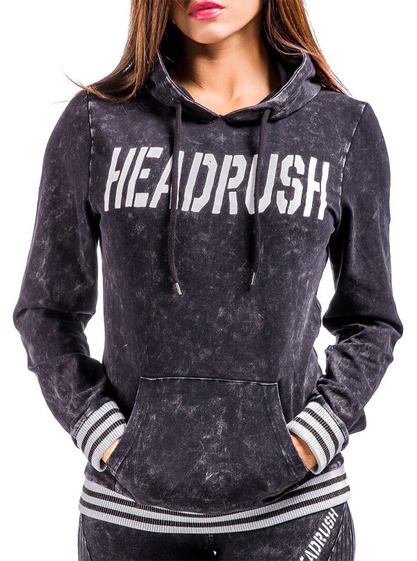 Women's Breathing New Life Hoodie by Headrush Brand (Charcoal)
