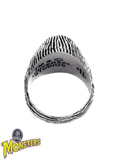 """Bride of Frankenstein"" Ring by Han Cholo (Silver) - www.inkedshop.com"
