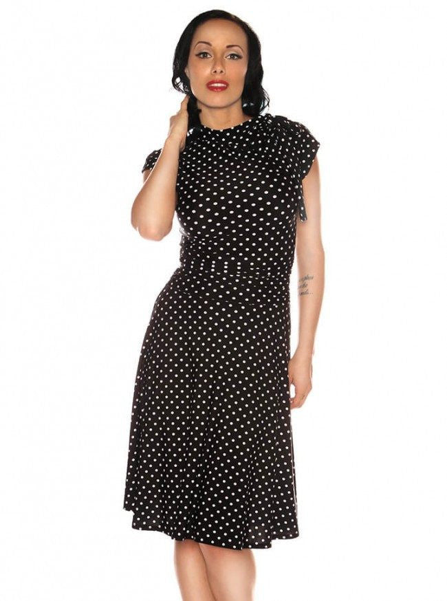 "Women's ""Bridget Bombshell"" Dress by Retrolicious (Black) - www.inkedshop.com"