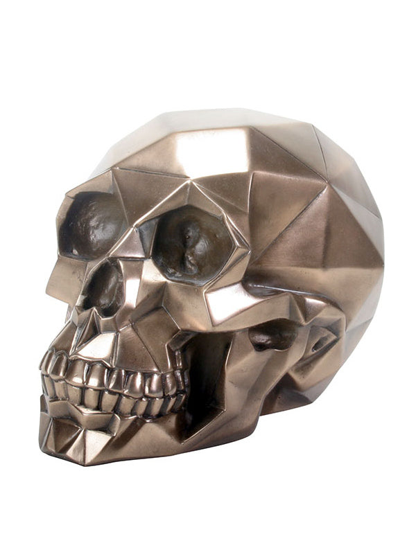 Polygon Skull by Summit Collection (Bronze)